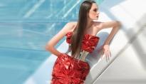 Thana Kuhnen in Dolce & Gabbana